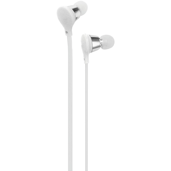 AT&T EBM01-White Jive Noise-Isolating Earbuds with Microphone (White)