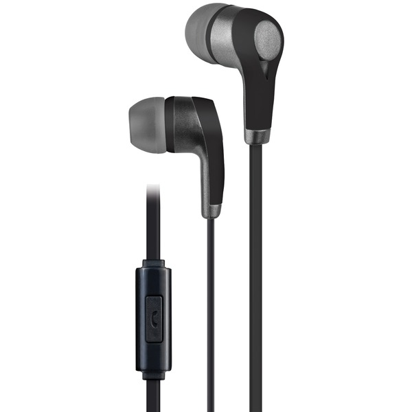 AT&T PE10-BLK PE10 In-Ear Stereo Earbuds with Microphone (Black)
