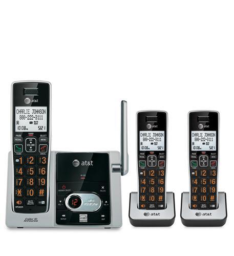 3 Handset Answering System CID