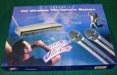 *GW3002* MICROPHONE DUAL WIRELESS WITH RECEIVER; NIPPON