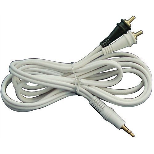 ADAPTER AUDIOPIPE 3.5mm MALE PLUG TO RCA; 6' CABLE; STEREO