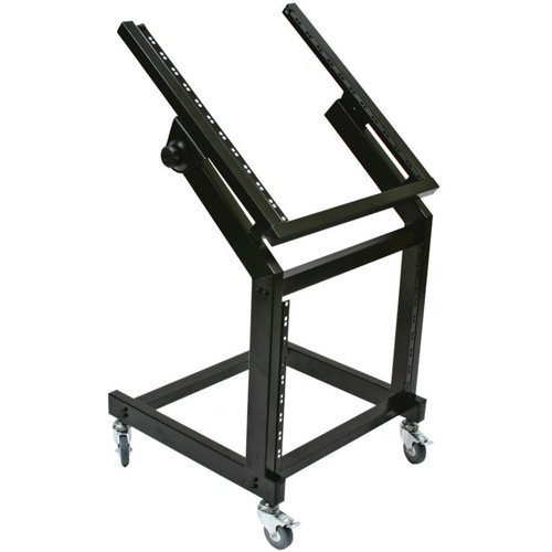 Nippon Zebra Audio Equipment Rack with Rollers