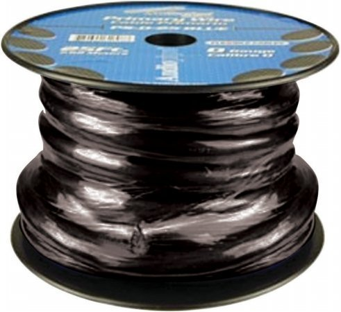 Audiopipe 25Ft 0Gauge Primary Cable Black