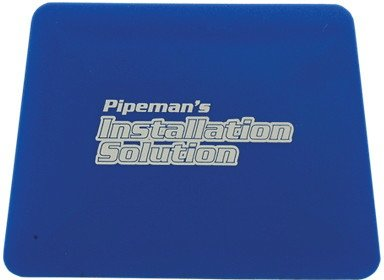 Pipeman Install Solution Hard Credit Card Squeegee