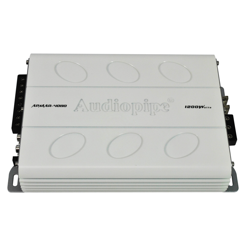 Audiopipe Mini 4CH 1200W Marine Amplifier