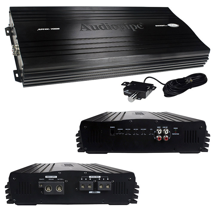 Audiopipe Amplifier 2 Channel 2800 Watts Max