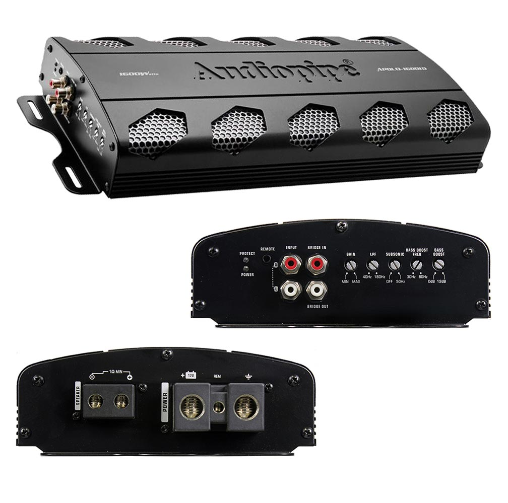 Audiopipe Dealer Line Monoblock Amplifier 1600W RMS