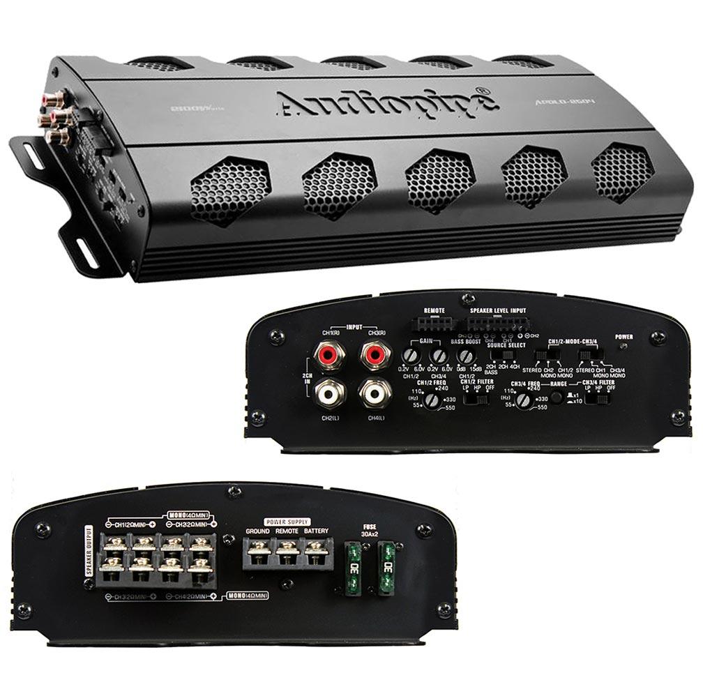 Audiopipe Dealer Line 4 Channel Amplifier 2100W Max