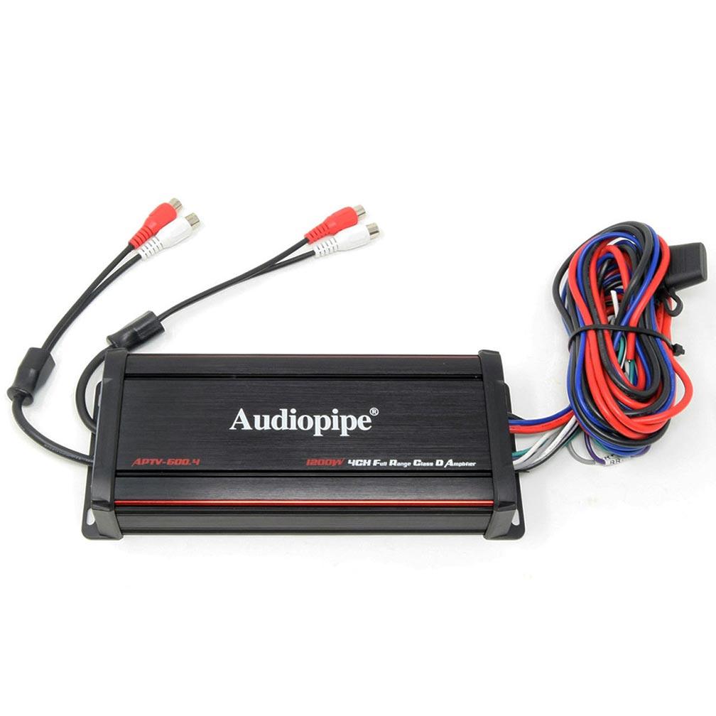 Audiopipe Marine 4 Channel Amplifier 1200W Max