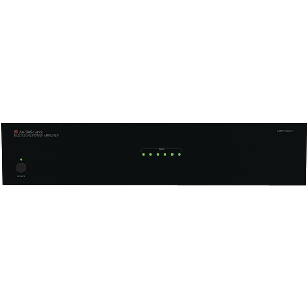 AudioSource AMP1200VS 12-Channel, 6-Zone Distributed Audio Analog Power Amp