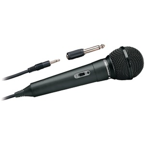 Audio-Technica ATR-1100 ATR Series Dynamic Vocal/Instrument Microphone (Unidirectional, ATR1100)