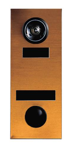 DOOR CHIME NON ELECTRIC BRONZE