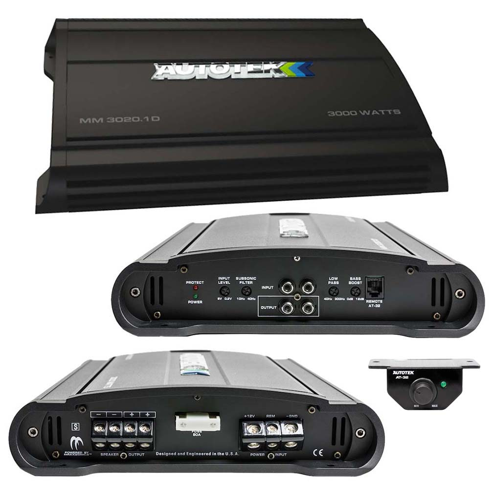 Autotek Mean Machine Amplifier 3000 Watts  Class D