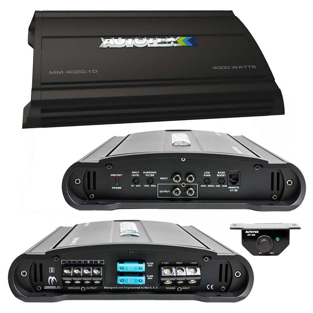 Autotek MM Amplifier 4000 Watt D class