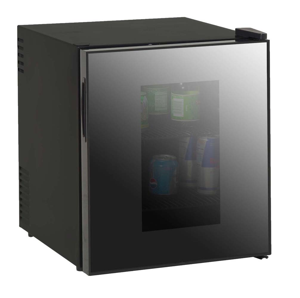 AVANTI SBCA017G BLACK 1.7CF BEVERAGE COOLER DELUXE GLASS DOO