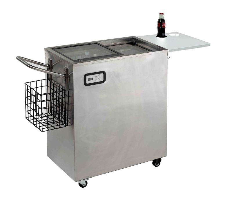 AVANTI ORC2519SS STEEL OUTDOOR BEVERAGE COOLER PORTABLE 2.5C