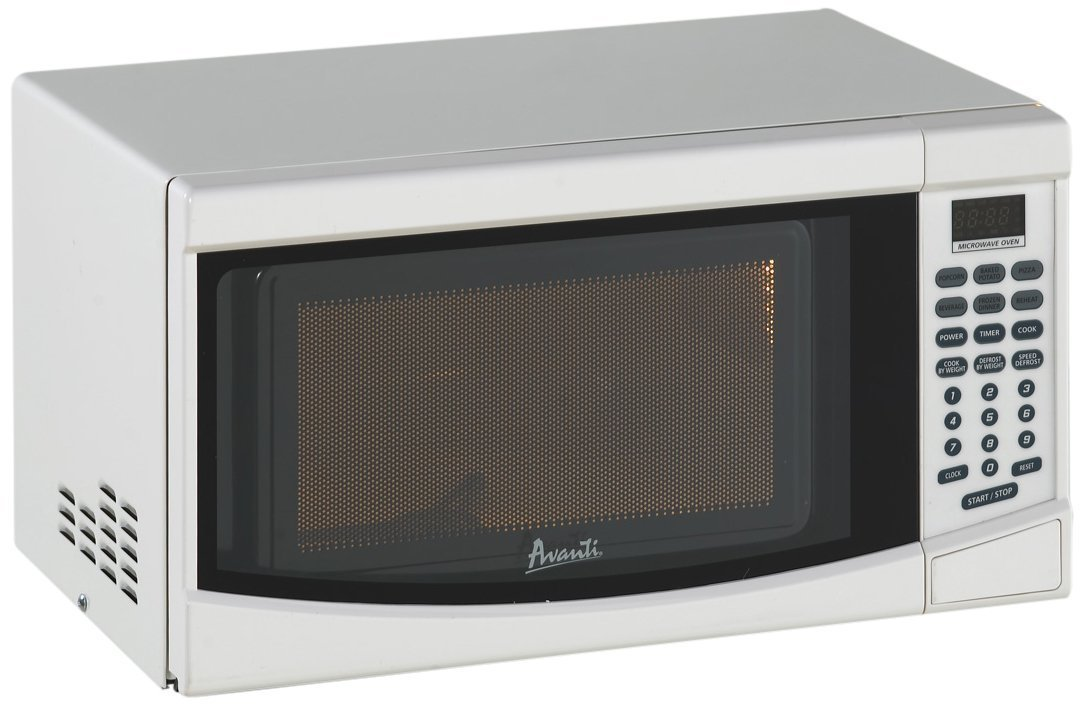 Avanti 0.7 Cu. Ft. Electronic Microwave with Touch Pad, White