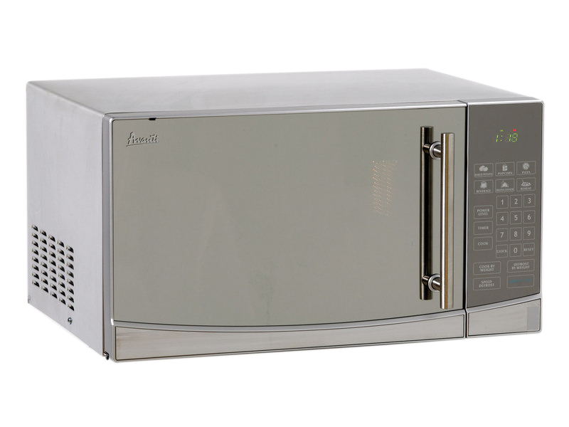 Avanti 1.1 Cu.Ft. Touch Microwave, Stainless Steel Finish w/Mirror Door