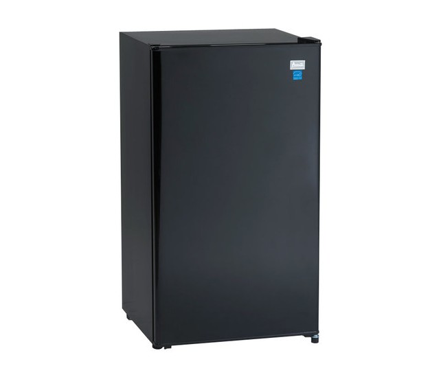 AVANTI AR321BB BLACK 3.2 CU FT ALL REFRIGERATOR WITH AUTO