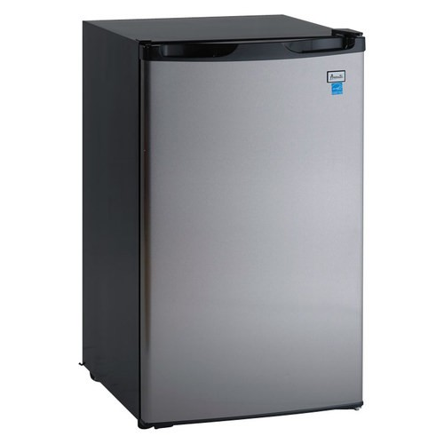4.4 Cu. Ft. Counterhigh Refrigerator, Black Cabinet with Stainless Steel Door