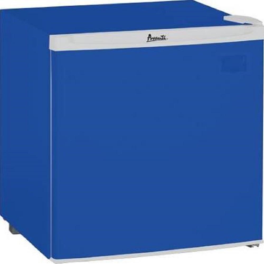 AVANTI RM17B5BF BLUE COMPACT 1.7 CUBIC FEET REFRIGERATOR