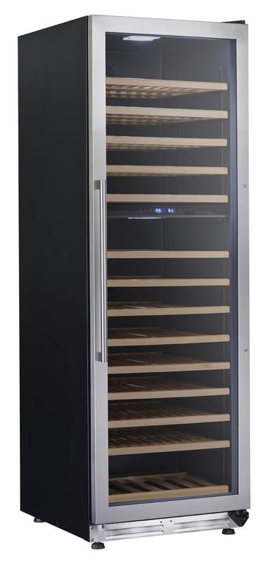 AVANTI WCF154S3SD BLACK DESIGNER SERIES WINE CHILLER  DUAL