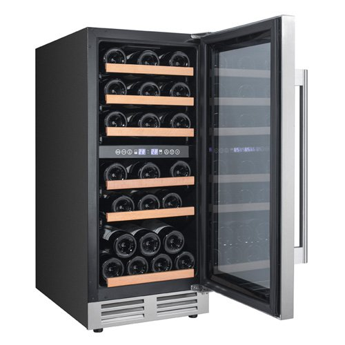 AVANTI WCF282E3SD BLACK DESIGNER SERIES WINE CHILLER DUAL