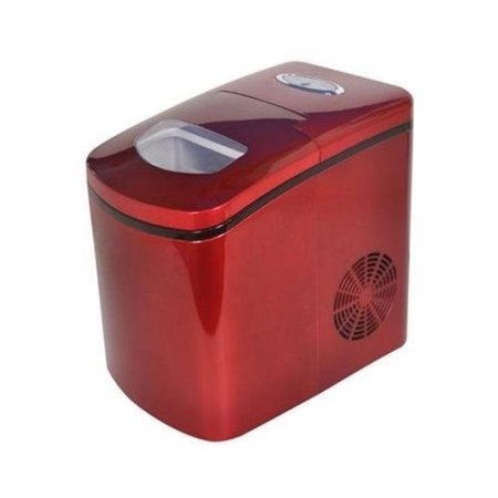 AVANTI IM12CRIS RED PORTABLE COUNTERTOP ICE MAKER MAKES UP TO