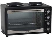 AVANTI PBOW111A1B-IS BLACK MULTI FUNCTION OVEN WITH 2 COOKTOP