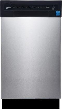 AVANTI DW1833D5E STAINLESS STEEL 18IN BUILT IN DISHWASHER