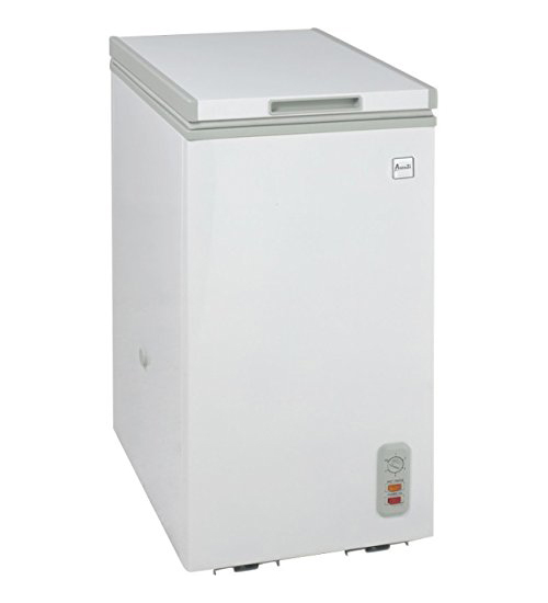 AVANTI CF6216E WHITE 2.1CUFT CHEST FREEZER WITH FLIP LID