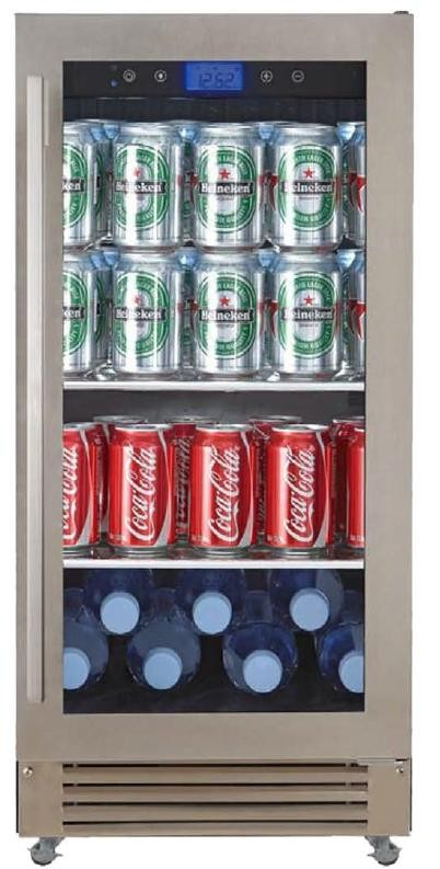 AVANTI COR30W3S STAINLESS STEEL 3CUFT COMMERCIAL REFRIGERATOR