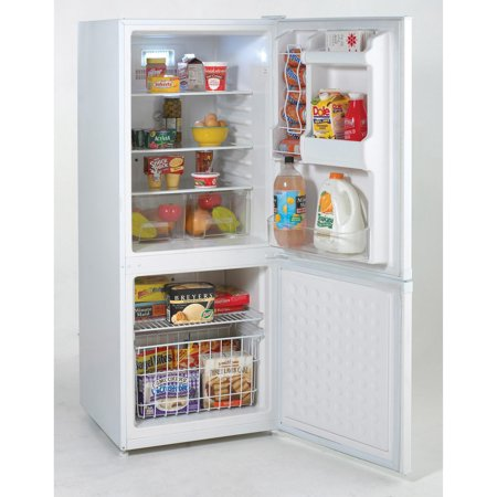AVANTI FFBM92HOW WHITE REFRIGERATOR BOTTOM MOUNT FREEZER