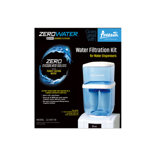 AVANTI ZJ007-IS ZEROWATER WATER BOTTLE KIT