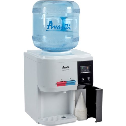 AVANTI  WD31EC WATER DISPENSER TABLE TOP HOT COLD CUP STORAGE