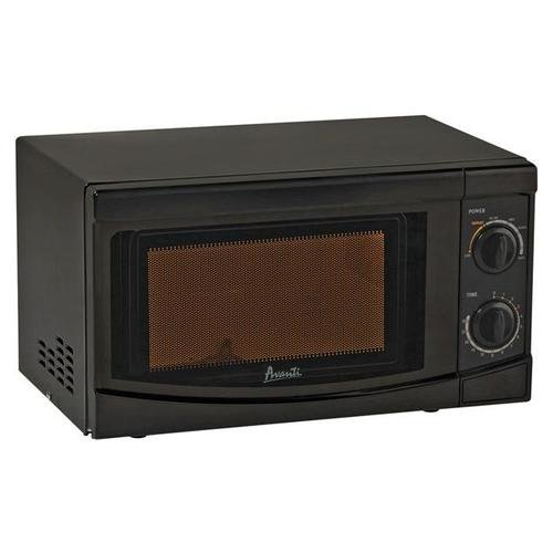 Avanti Mo7082Mb Black Microwave Oven 0.7Cf 700 Watts Mechanical