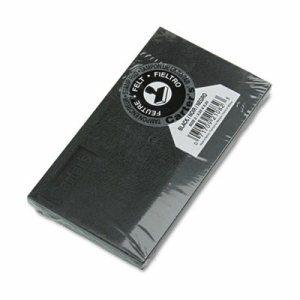 Felt Stamp Pad, 6 1/4 x 3 1/4, Black