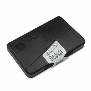 Foam Stamp Pad, 4 1/4 x 2 3/4, Black