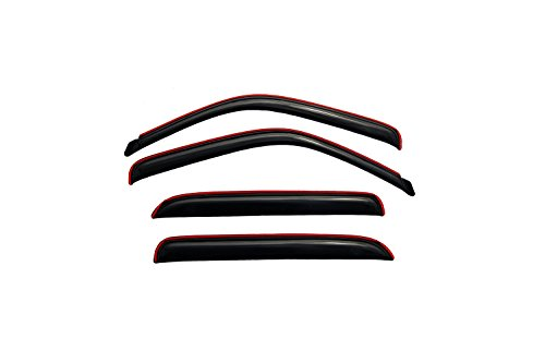 Auto Vent Shade InChannel Ventvisor Side Window Deflector 4Pc Set for most 2001-2006 GM Full Size C