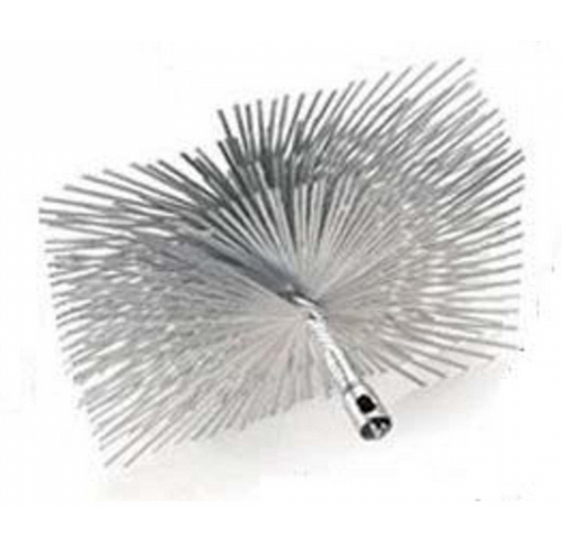 "12"" Square Master Series Round Wire Brush"
