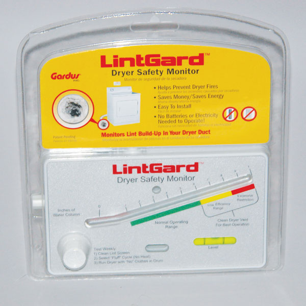 LintGard - Dryer Safety Monitor