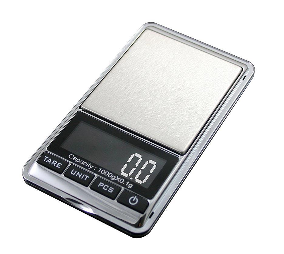 American Weigh Chrome Digital Pocket Scale 200g by 0.01gm