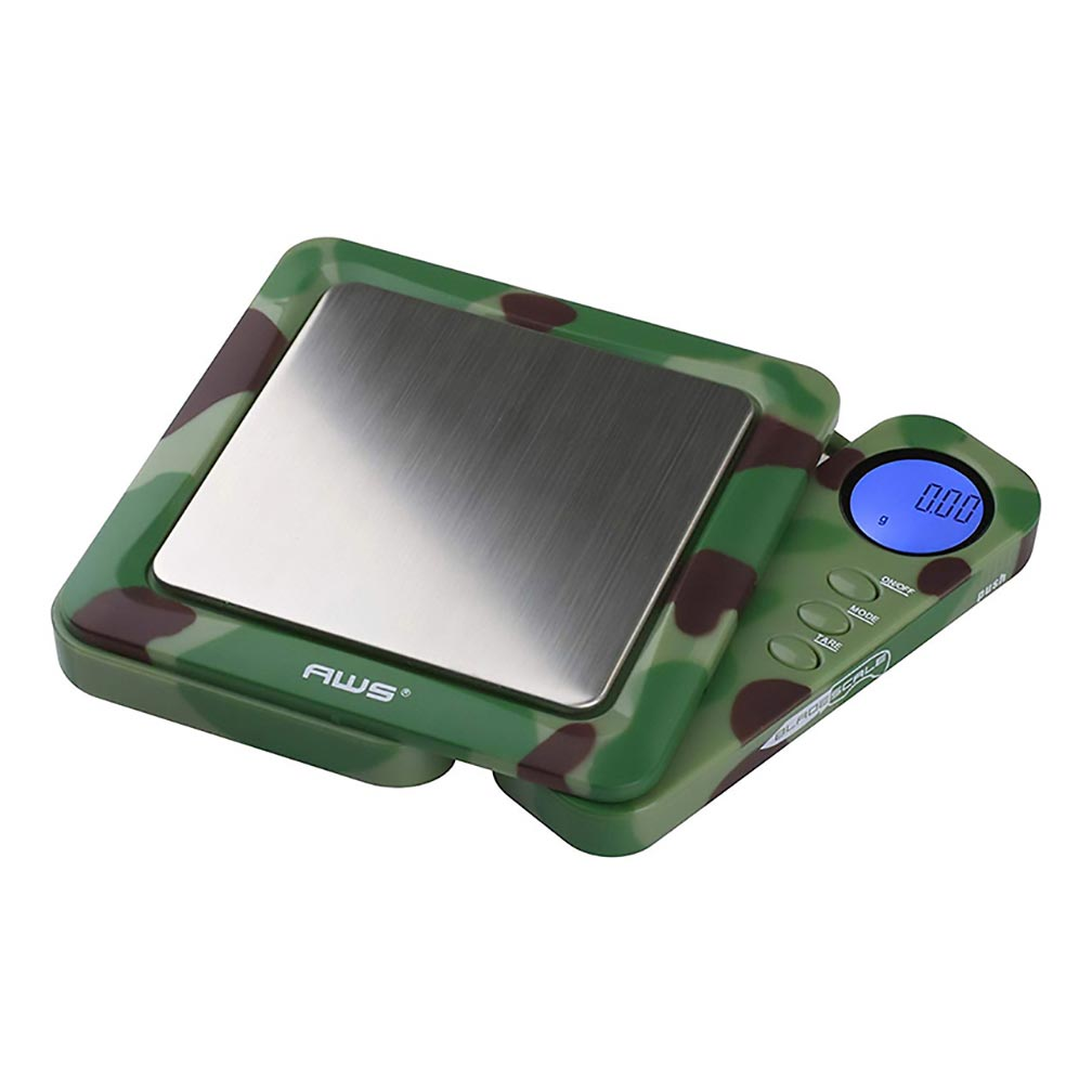 American Weigh Scales Blade Series Digital Precision Pocket Weight Scale Silver 650 x 0.1G Camo