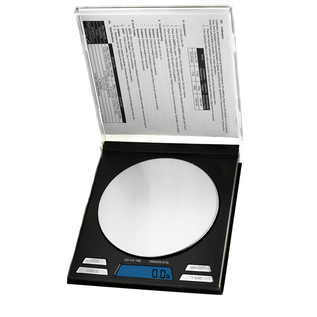American Weigh Scales CD Series Compact Gram Digital Pocket Scale 100 G X 0.01 G