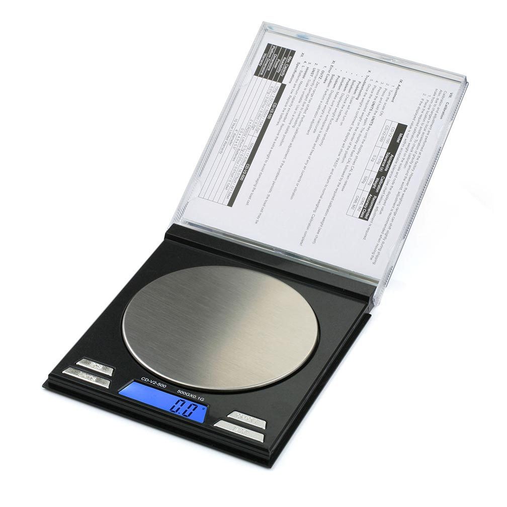 American Weigh Scales CD Series Compact Gram Digital Pocket Scale Black 500g X 0.1g