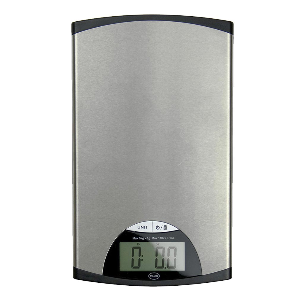 American Weigh Scales EDGE-5K Stainless Steel Digital Kitchen Scale 11-Pound by 0.1-Ounce