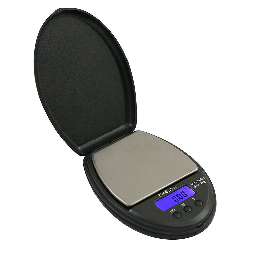 American Weigh Scale Fast Weigh ES Series Digital Pocket Scale Black 100 x 0.01G