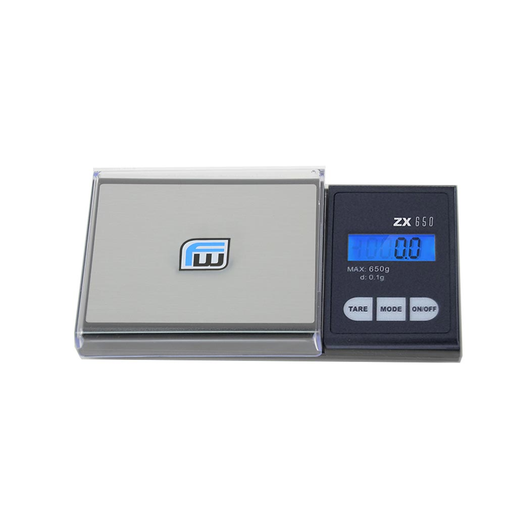 American Weigh Scale Fast Weigh Zx4650 Digital Pocket Scale Black 650 X 0.1 G
