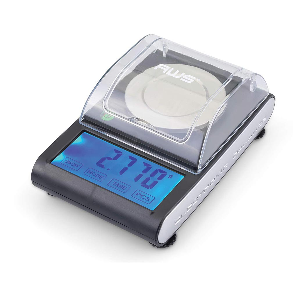 American Weigh ZEO-50 Milligram Scale 50g x 0.001g - Black
