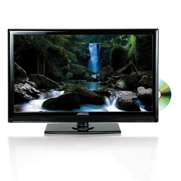 AXESS TVD180122 22IN HIGH DEFINITION LED TV WITH DVD PLAYER